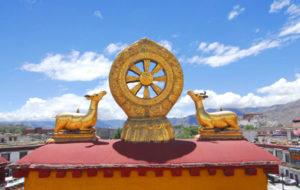 Dharma Wheel at Jokhang Temple