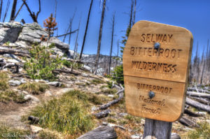 Entering the Bitterroot-Selway Wilderness