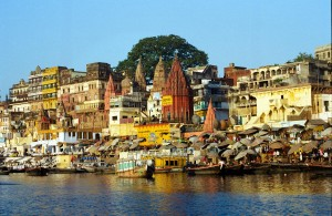 Pilgrims journey to Varanasi to cleanse their spirits in the river.